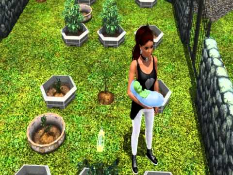 sims 3 plant sim baby youtube. Black Bedroom Furniture Sets. Home Design Ideas