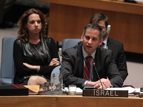 Israel's Couns. on Political Affairs statement at UNSC