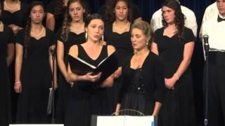 St. Augustine Alumnae sing Evening Prayer duet from Humperdink
