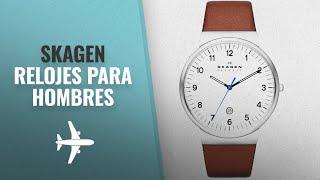 Skagen 2018 Mejores Ventas: Skagen Klassik Men's Three Hand Leather Watch