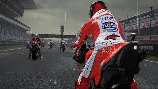 MotoGP 17 - Ducati Desmosedici GP17 - Rain Gameplay (PC HD) [1080p60FPS]