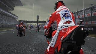 MotoGP 17 - Ducati Desmosedici GP17 - Rain Gameplay (PC HD) [1080p60FPS]