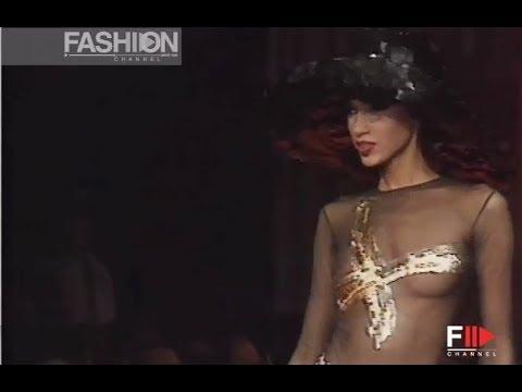 CHRISTIAN LACROIX Fall Winter 1992 1993 Paris - Fashion Channel
