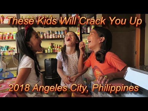 These Kids Will Crack You Up : 2018 Angeles City, Philippines