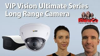 VIP Vision VSIPE8MPVDIRM-Z 8MP Ultimate 8MP WDR IR Long Range Mtrsd Dome (7-35mm) video