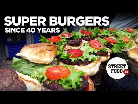 SUPER BURGERS | Nursery Bun Kebab | Karachi Street Food | Travel Pakistan