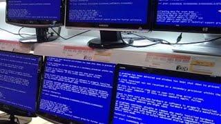 видео Синий экран смерти что делать
