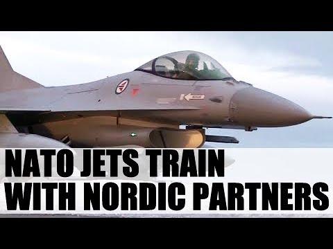 NATO jets train