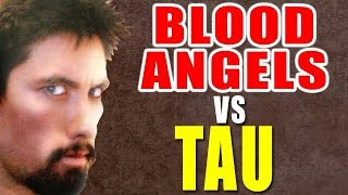 Blood Angels vs Tau Warhammer 40k Battle Report - Banter Batrep Ep 112