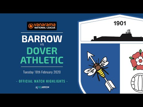 Barrow Dover Ath. Goals And Highlights