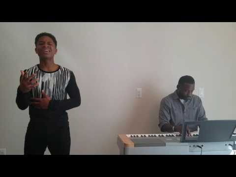 Caleb Carroll 14 years old singing Cover of Johnny & Donna by Mali Music