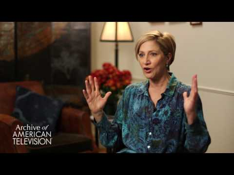 Edie Falco on the character of Carmela Soprano - EMMYTVLEGENDS.ORG