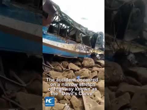 Death toll rises to 51 in Peru bus crash