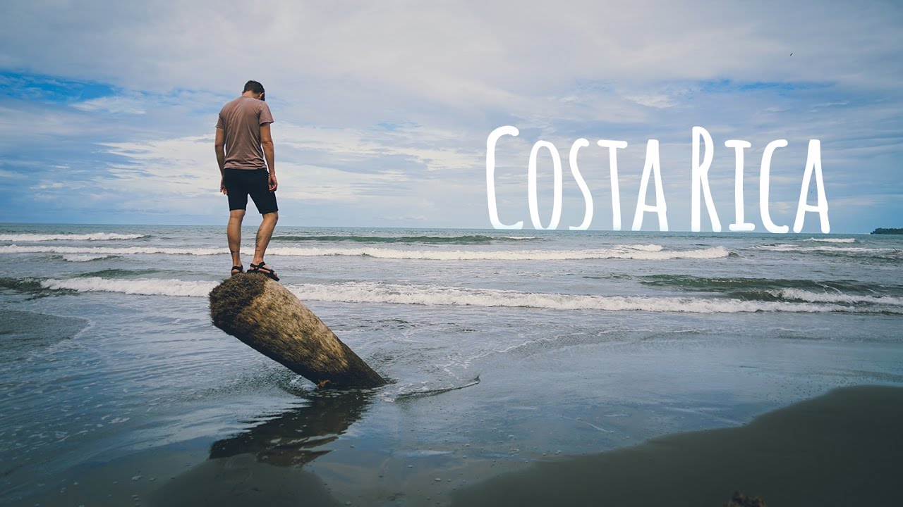 Exploring BLACK SAND BEACH In Costa Rica