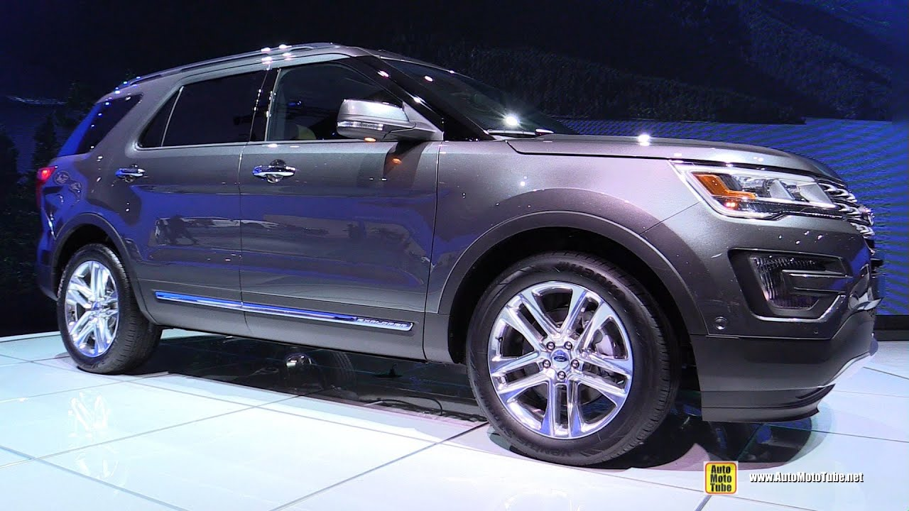2016 ford explorer limited exterior and interior walkaround debut at 2014. Cars Review. Best American Auto & Cars Review