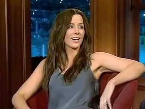 Kate Beckinsale Wears No Underwear for Craig Ferguson!