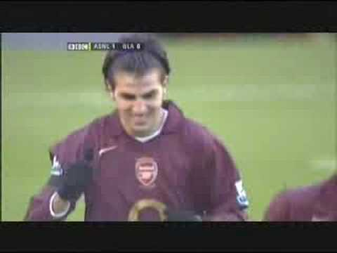 Cesc Fabregas-Arsenal vs Blackburn
