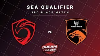 Cignal Ultra vs TNC Predator Game 1 - DreamLeague S13 SEA Qualifiers: 3rd Place Match