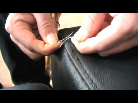 Car Seat Stitching Repair
