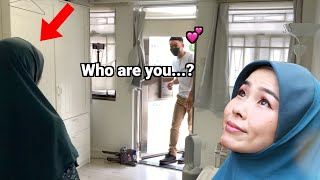 I transformed to pretty Malay girl and surprised husband
