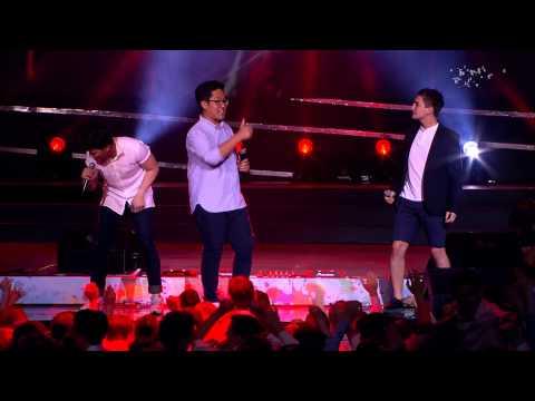 The Jigits - В эту ночь - Выступление на концерте Выпускник 2015