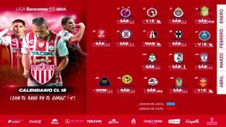 ✔ Rayos Necaxa | Calendario Oficial Clausura 2018 | Liga Mx