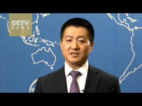 Chinese Foreign Ministry spokesman Lu Kang explains China's approach to South China Sea issues