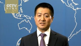 Chinese Foreign Ministry spokesman Lu Kang explains China