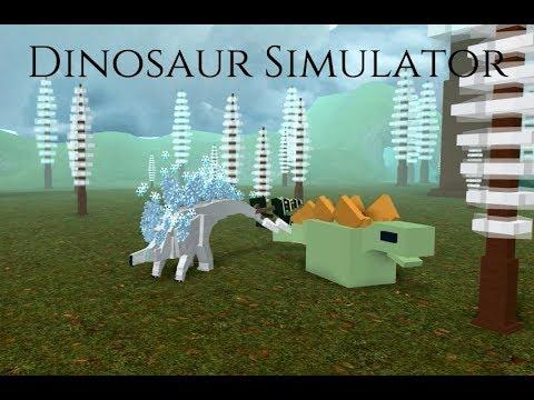 Dinosaur Simulator - The frosty dinosaur!