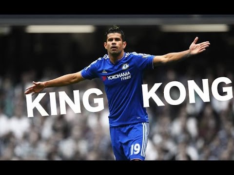 Diego Costa - King Kong - First 30 Goals For Chelsea FC - HD