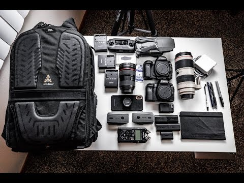 What's In My Camera Bag - LowePro Tactic 450 AW II
