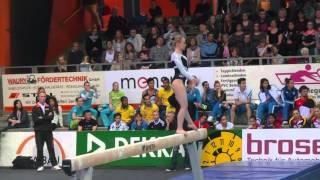 Sanne Wevers, kwalificatie balk, Cottbus 2016