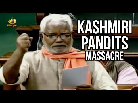 MP Hukumdev Narayan Yadav Excellent Speech About Award Wapsi & Kashmiri Pandits Massacre