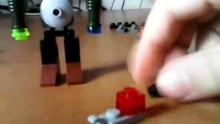 Как сделать из лего робота Киборга