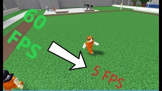 How to lag the whole server in Prison Life Roblox