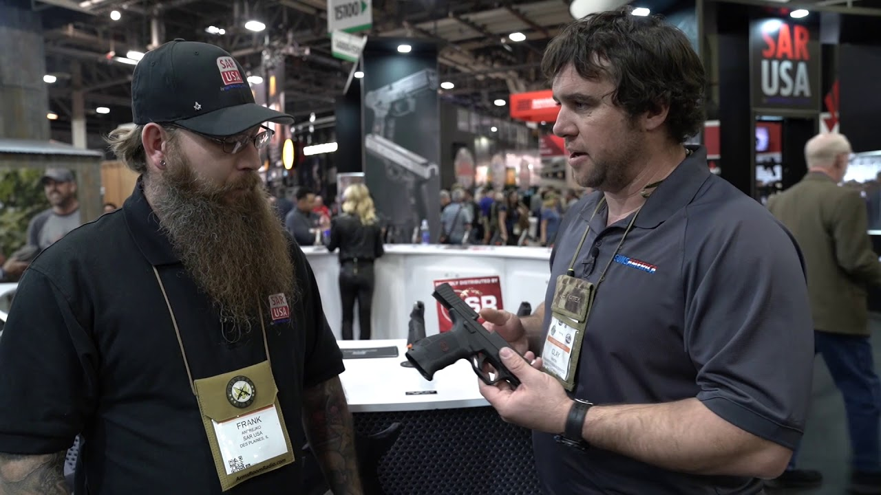 Welcome to the US: SAR Arms 9mm CCW Pistol — SHOT Show 2018