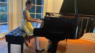 Beethoven Pathétique Sonata No. 8 in C minor, Op. 13, 1st Movement | Abigail Goddard Age 11