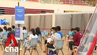 Almost 90% of graduating students in Singapore have signed up for COVID-19 vaccination