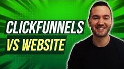 ClickFunnels Vs Website ? ClickFunnels Vs WordPress