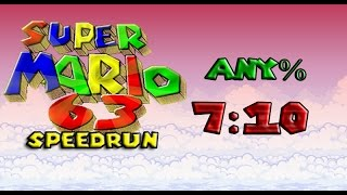 [WR] Super Mario 63 Speedrun in 7:10.42 (any%)