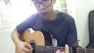 GUITAR TTB -  demo phía sau một cô gái guitar fingerstyle - Thô Bi Trọng