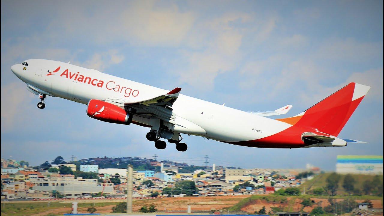 Partida de doze Aeronaves em Guarulhos