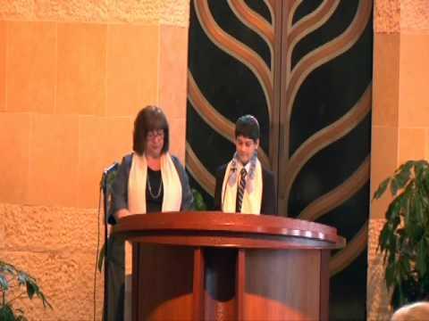 2012 04 14 Elliot bar mitzvah  Sh'ma and V'ahavta