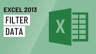 Excel 2013: Filtering Data