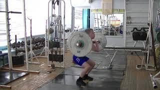Тычкин Арсений,10 лет, вк 42 На грудь в сед 22 кг
