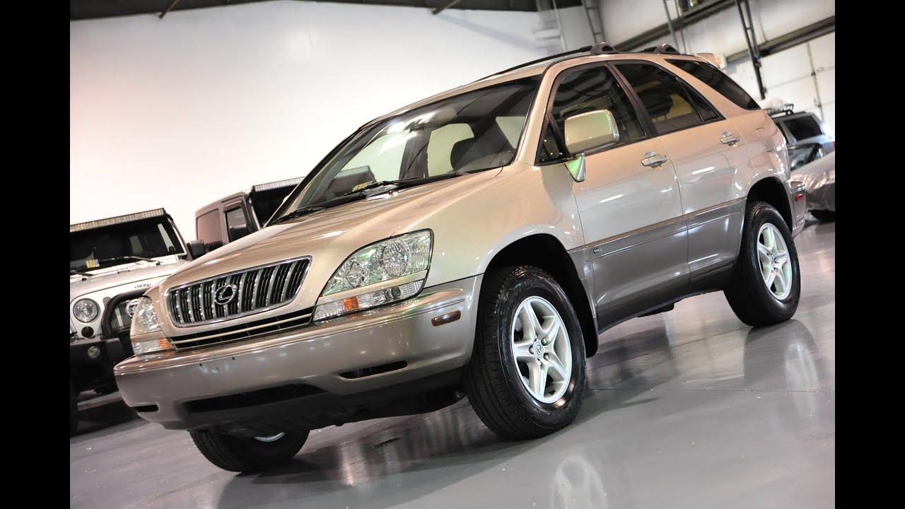 Davis AutoSports 2003 Lexus RX300 RX 300 AWD 68k Miles For Sale