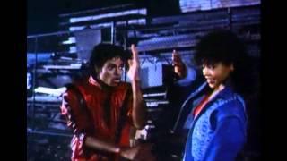 Michael Jackson & Ola Ray In Love thriller