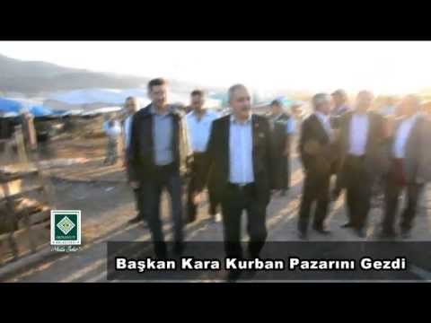 Osmaniye Belediye Başkanı Kadir Kara Kurban Bayramı Öncesi Kurban Pazarı Esnaflarını Gezdi