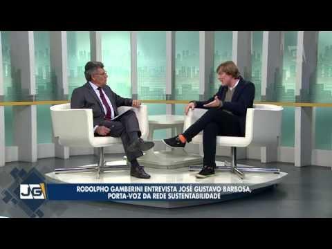 Rodolpho Gamberini entrevista José Gustavo Barbosa, porta-voz da Rede Sustentabilidade