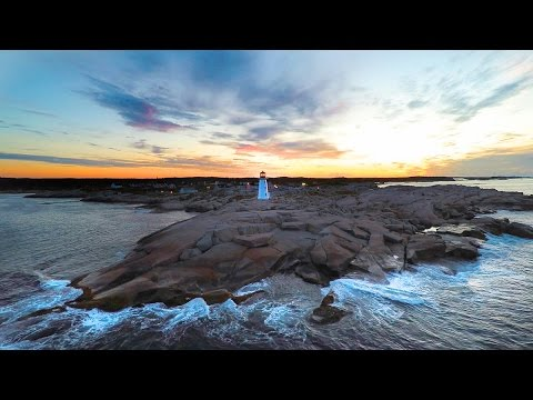 Beautiful and Touching Aerial Video of Nova Scotia Canada in 4K! - Peggy's Cove, Cape Breton